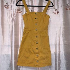 H&M | Denim Button-Up Dress